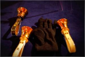 2015-11-29 Handbells and Gloves @ Carols Concert!