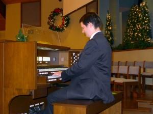 2015-11-29 Peter @ the Organ