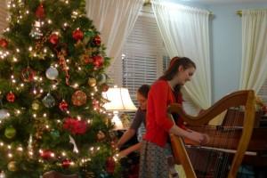 12-24-15 Deborah on Harp TGP