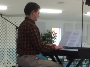2016-3-15 Padgett's Creek Peter on Piano