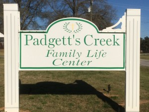 2016-3-15 Padgett's Creek Sign