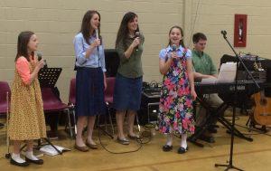 2016-4-5 Monaghan Baptist ROA Phebe, Deborah, Priscilla, Susanna, and Peter