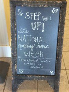 2016-5-10 ROA Wesley Common Board for National Nursing Home Week