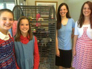 2016-5-10 ROA Wesley Commons with Bailey and Susanna, Phebe, Priscilla, & Deborah