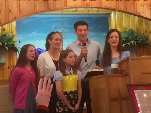 2016-5-27 FBC Luke with Susanna, Deborah, Phebe, and Priscilla
