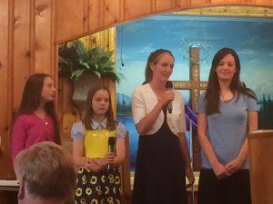 2016-5-27 FBC Susanna, Phebe, Deborah, and Priscilla Beulah Land