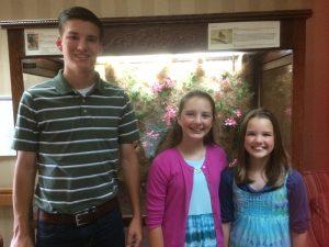 2016-6-1 ROA @ Elsie's Nursing Home Luke, Susanna, and Phebe