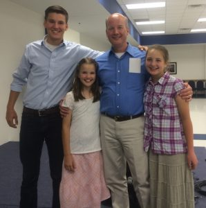 2016-7-12 ROA @ FBC Luke, Phebe, Gregory, and Susanna