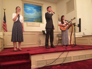2016-9-25-roa-bethel-baptist-priscilla-luke-and-deborah-singing