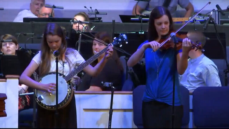 Rock Springs Baptist Church Rock Of Ages Family Music