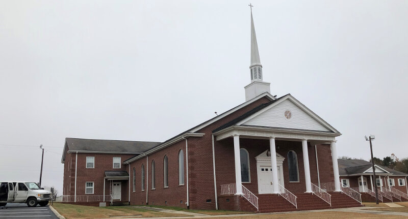 Long Branch Baptist Church, Anderson, SC – Rock of Ages ...